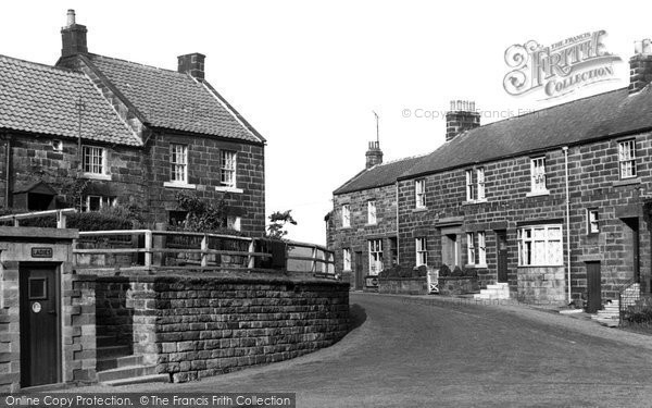 Photo of Castleton, Guisborough Corner c.1955