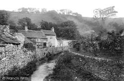 Peakshole Water And Cottages 1909, Castleton