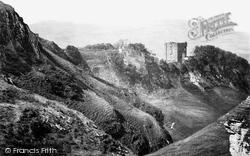 Peveril Castle c.1864, Castleton