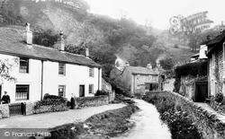 River Styx And Cottages 1909, Castleton