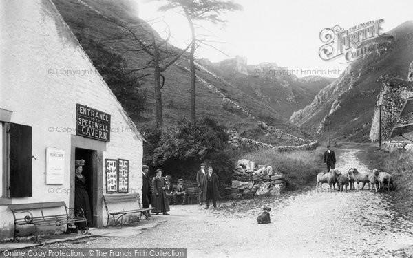 Photo of Castleton, Speedwell Cavern 1909