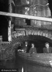 Speedwell Mine Canal Entrance 1916, Castleton