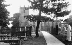 St Edmund's Parish Church 1932, Castleton