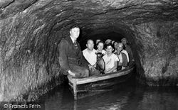 The Boat At Halfway House, Speedwell Cavern c.1960, Castleton