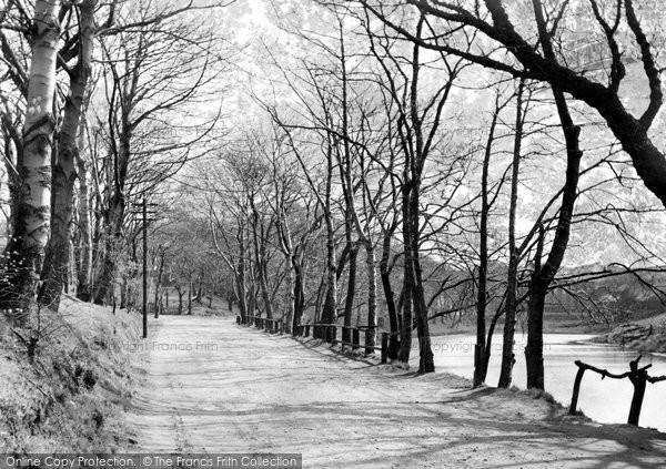 Castleton, Trows Lane 1951