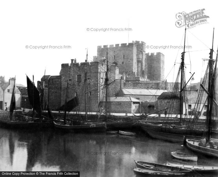 Castletown, Castle Rushen 1885