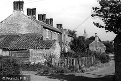 Castor, Allotment Lane c.1955