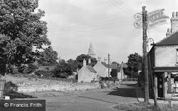 Castor, Church Hill c.1955