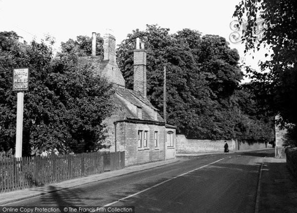 Photo of Castor, Main Road c.1955