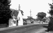 Castor, Peterborough Road c1955