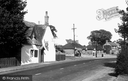 Castor, Peterborough Road c.1955