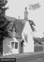 Peterborough Road c.1955, Castor