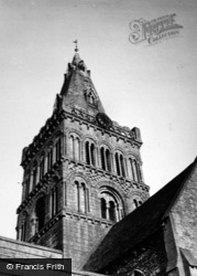 Castor, St Kyneburgha's Church c.1950