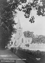 Castor, St Kyneburgha's Church c.1955