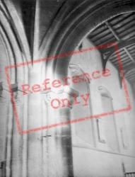 St Kyneburgha's Church Interior c.1950, Castor