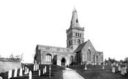 Castor, the Church of St Kyneburgha 1890