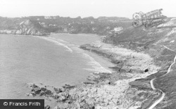 Caswell Bay, c.1950