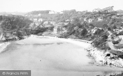 Caswell Bay, c.1955