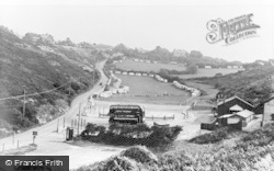 Caswell Bay, Caswell Hill c.1960