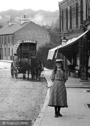 A Girl, Croydon Road 1894, Caterham