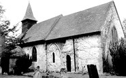Caterham, Ancient Church Of St Lawrence 1957