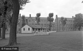 Caterham, Barracks, the Cricket Pavilion 1951