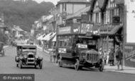 Caterham, Bus In Croydon Road 1925