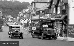Caterham, Bus In Croydon Road 1925