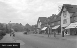 Caterham, Croydon Road 1955