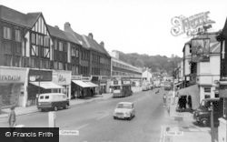 Caterham, Croydon Road c.1965