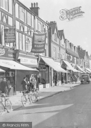 Caterham, Croydon Road Shops 1948
