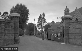 Caterham, Entrance to the Barracks 1951