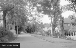Caterham, Harestone Valley Road 1961
