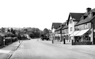 Caterham, Marden Parade Showing Tillingdown Hill 1954