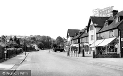 Caterham, Marden Parade Showing Tillingdown Hill 1954