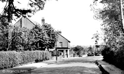 Caterham, On The Hill, Tally Ho Junction, Coulsdon Road 1951
