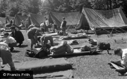 Caterham, Pilgrim Fort, The Tent Site 1955