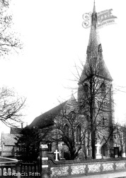 Caterham, St Mary's Church 1902