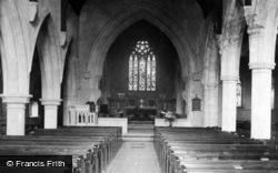Caterham, St Mary's Church Interior 1895