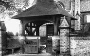 Caterham, St Mary's Church Lychgate 1903