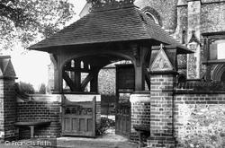 St Mary's Church Lychgate 1903, Caterham