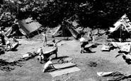 Caterham, The Tent Site, Pilgrim Fort 1955