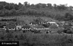 Caterham, The View From Weald Way 1957