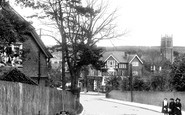 Caterham, View From Waller Lane 1903