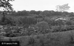 Caterham, View From Weald Way 1957