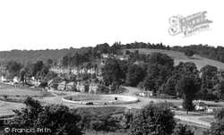 Wapses Roundabout c.1955, Caterham