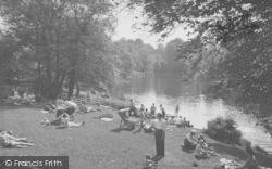 Caton, The River At Halton Green c.1960
