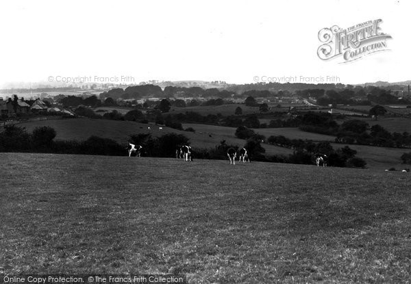 Caton, view from Caton Green Road looking west c1955