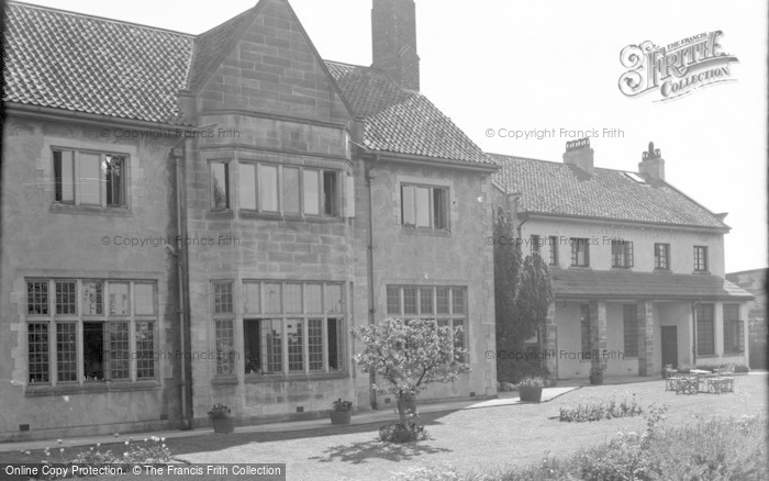 Photo of Catterick, Bridge House Hotel From River Garden 1939