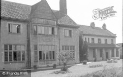 Catterick, Bridge House Hotel From River Garden 1939